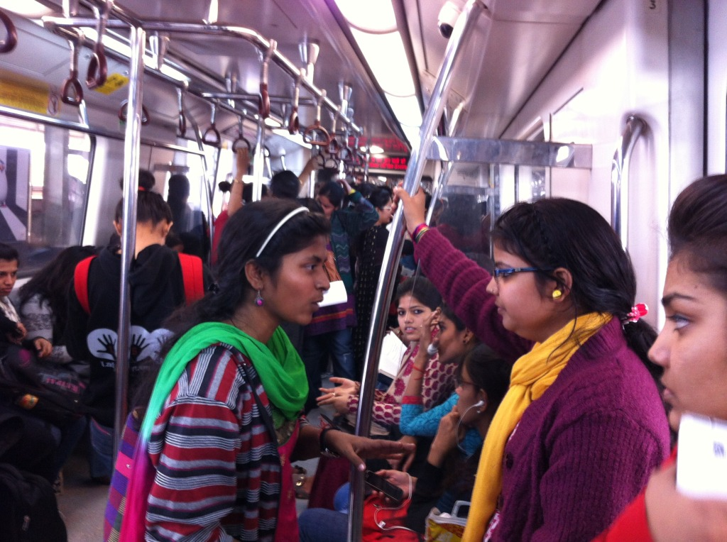 The 'Only Women' compartment: much needed in New Delhi